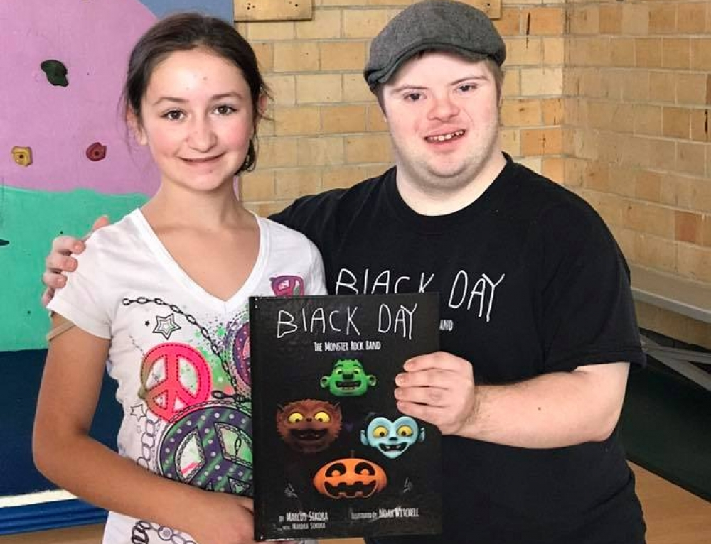 """(I like Black Day) because the author of it has Down Syndrome"""